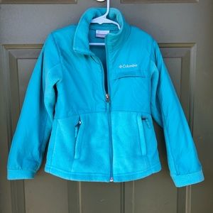 Columbia Teal Fleece Jacket
